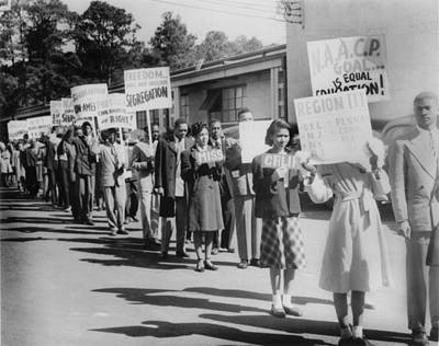 The Civil Rights Movement Began Art Print by Everett