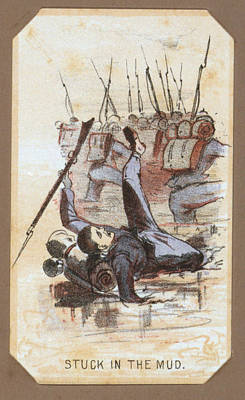 Winslow Homer Photograph - The Civil War, Life In Camp, Stuck In by Everett