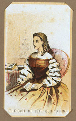 Winslow Homer Photograph - The Civil War, Life In Camp, The Girl by Everett