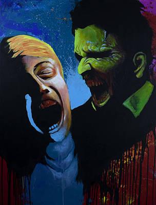The Clash Art Print by Jake Perez