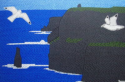 The Cliffs Of Moher Ireland Art Print by Eamon Reilly