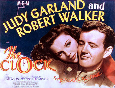 The Clock, Judy Garland, Robert Walker Art Print