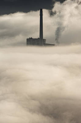 The Cloud Factory Art Print by Andy Astbury