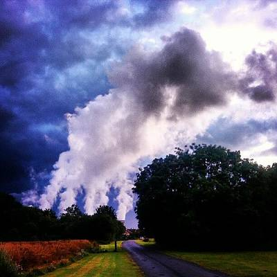 Steam Wall Art - Photograph - The Cloud Factory #powerstation by Pete Carr