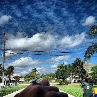Iphone 4s Photograph - The Clouds Are A Lovely Sight Today by Emily W