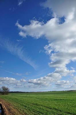 Photograph - The Clouds Go Round And Round by Gabi Dziok-Grubb