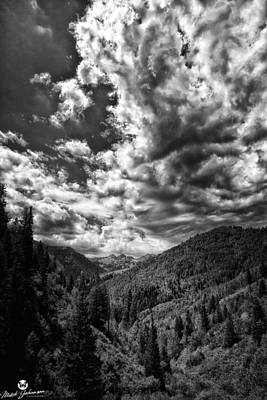 1-war Is Hell Royalty Free Images - The Clouds Roll In BW Royalty-Free Image by Mitch Johanson