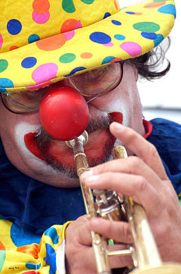 Photograph - The Clown by Gary Rose