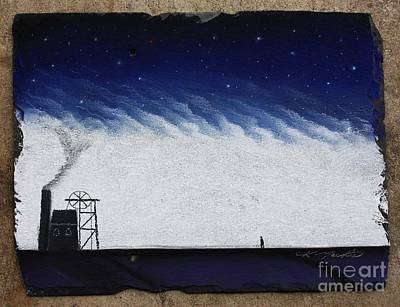 The Coal Miner Art Print