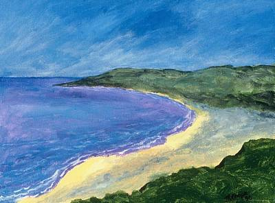 The Coast Art Print by Manny Chapa