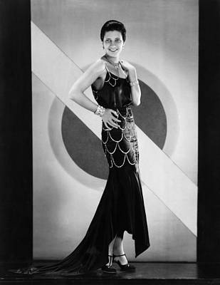Evening Gown Photograph - The Cocoanuts, Kay Francis, 1929 by Everett