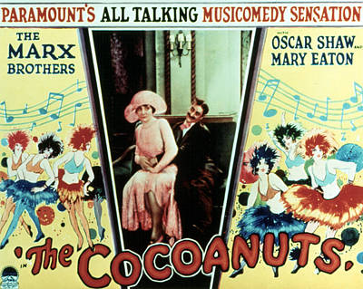 The Cocoanuts, Margaret Dumont, Groucho Art Print