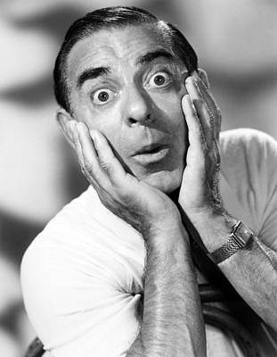 1950s Tv Photograph - The Colgate Comedy Hour, Eddie Cantor by Everett