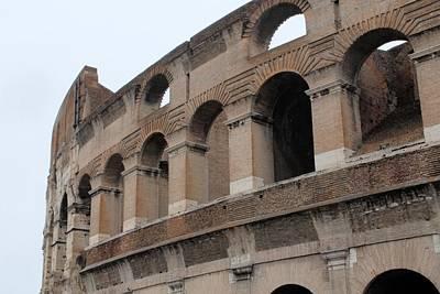 The Coliseum Art Print by