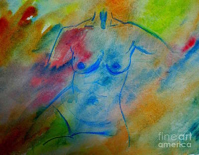 The Color Of Beauty 2 Art Print by Julie Lueders