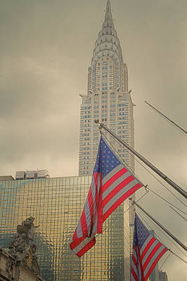 Photograph - The Colors Flying In New York by Karol Livote