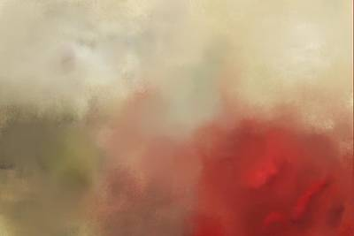 Abstract Art Painting - The Coming Storm by Jeff Montgomery