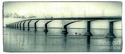 The Confederation Bridge Pei Art Print by Edward Fielding