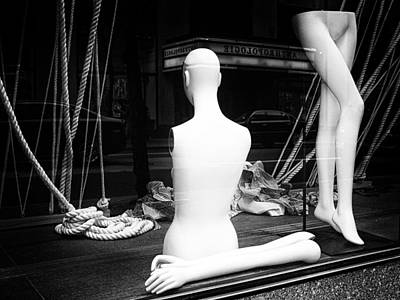 Photograph - The Confused Mannequin by Cornelis Verwaal