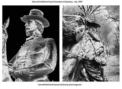 The Corps Commanders Art Print by David Bearden