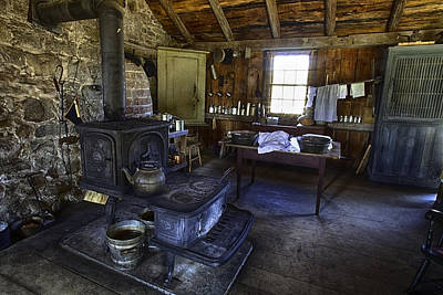 Photograph - The Country Kitchen by Richard Lee