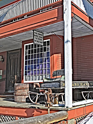 The Country Store Art Print by Linda Pulvermacher