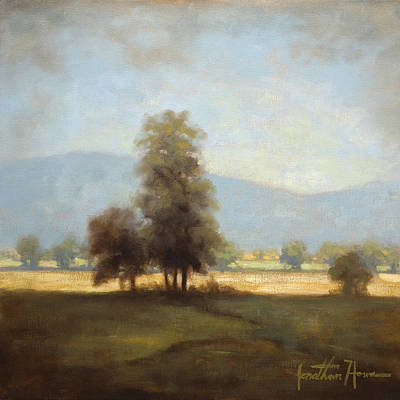 Cades Cove Painting - The Cove by Jonathan Howe