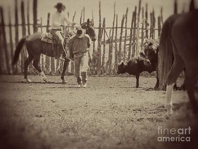 Cowboy Art Photograph - The Cowboy by Megan Chambers