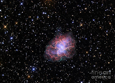 Shockwave Photograph - The Crab Nebula by R Jay GaBany