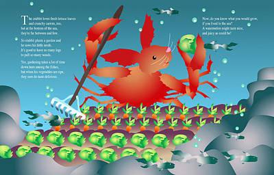 The Crabbit Art Print by Gene Rosner