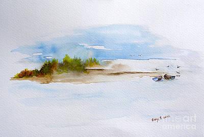 The Creek Art Print by Sibby S