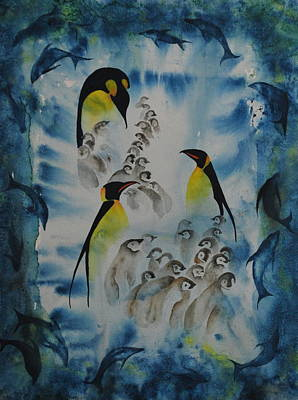 Painting - The Cresh by Lynn Hughes