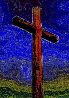 Photograph - The Cross by Cindy Wright