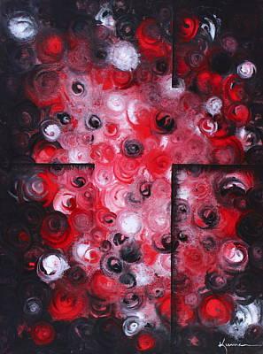 Blue Hues - The Cross by Kume Bryant