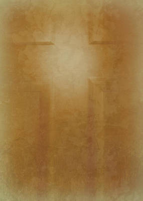 Photograph - The Cross On The Door by Cindy Wright