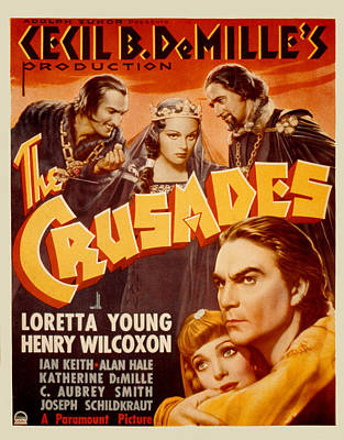 1935 Movies Photograph - The Crusades, Joseph Schildkraut by Everett