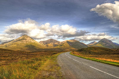 The Cuillin Mountains Of Skye Original