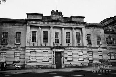 The Custom House Building Clyde Street Glasgow Scotland Uk Print by Joe Fox