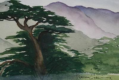 The Cypress Tree Art Print