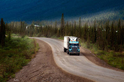 Photograph - The Dalton Highway by Gary Rose
