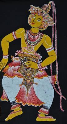 The Dance Art Print by Kumi Rajagopal