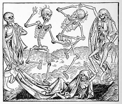 Resurrecting Photograph - The Dance Of Death, Allegorical Artwork by
