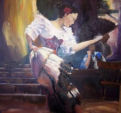 The Dancer Art Print by Andreia Medlin