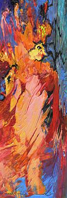 Painting - The Dancing Queen by Miki De Goodaboom