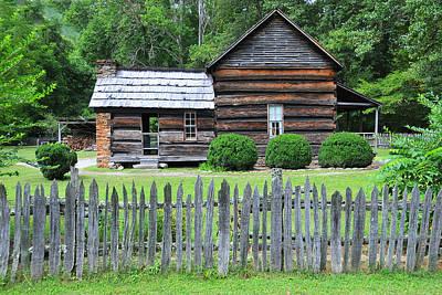 Photograph - The Davis House by Alan Lenk