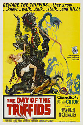 The Day Of The Triffids, 1963 Art Print by Everett