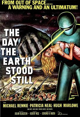 The Day The Earth Stood Still, 1951 Art Print