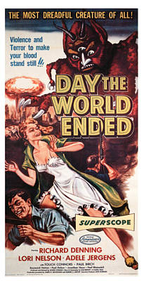 The Day The World Ended, Richard Art Print by Everett