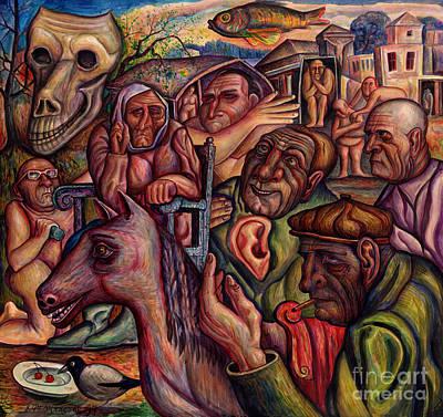 Vladimir Feoktistov Painting - The Dead Eyes by Vladimir Feoktistov