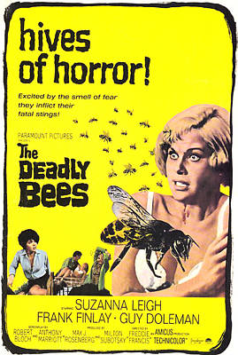 Covering Up Photograph - The Deadly Bees, From Left Katy Wild by Everett